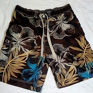 **Host Pick** OP Floral Board Shorts Size: M